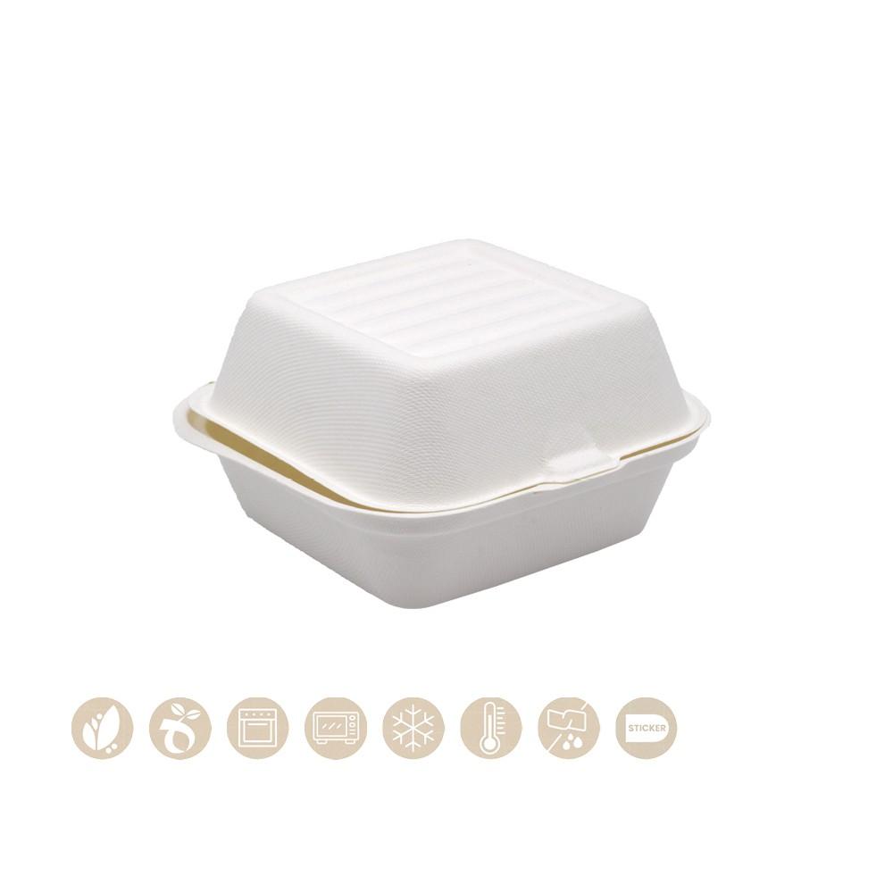 BIO Burgerbox mit Klappdeckel PULP 200-01-0025