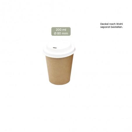 Coffee-To-Go Trinkbecher 200ml, 108-02-0055