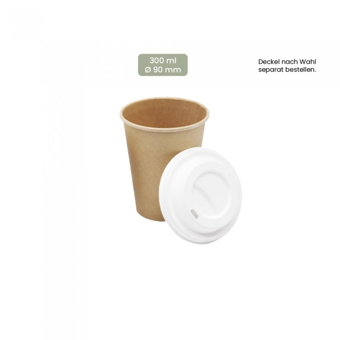 Coffee-To-Go Trinkbecher 300ml, 108-02-0056