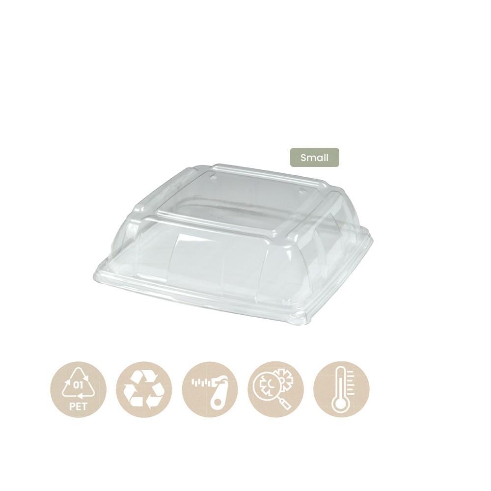 104-05-0188 Deckel für Platte Bio 27x27cm (PET)