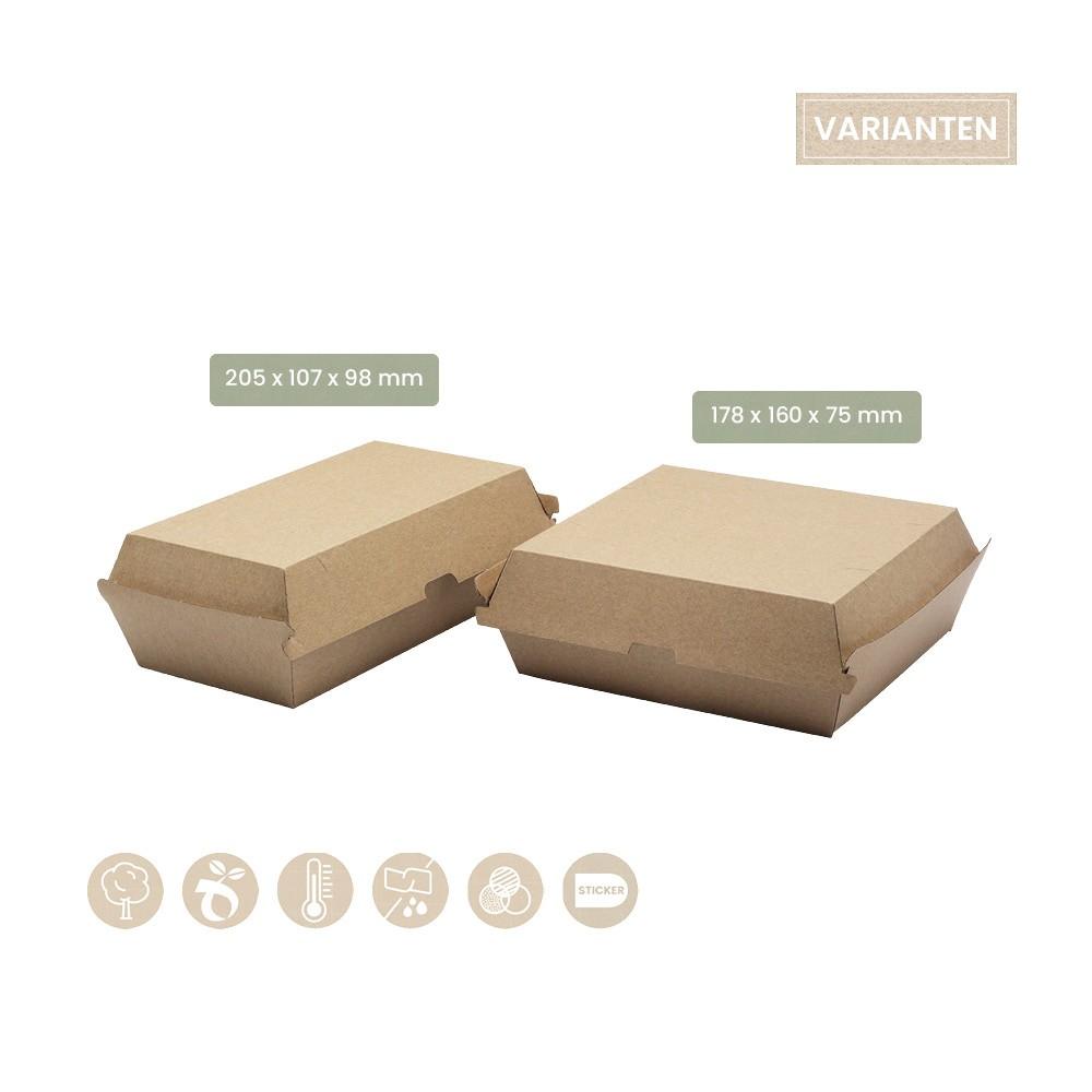 Klappbox - Menübox aus Papier (106-01-0003, 106-07-0041)