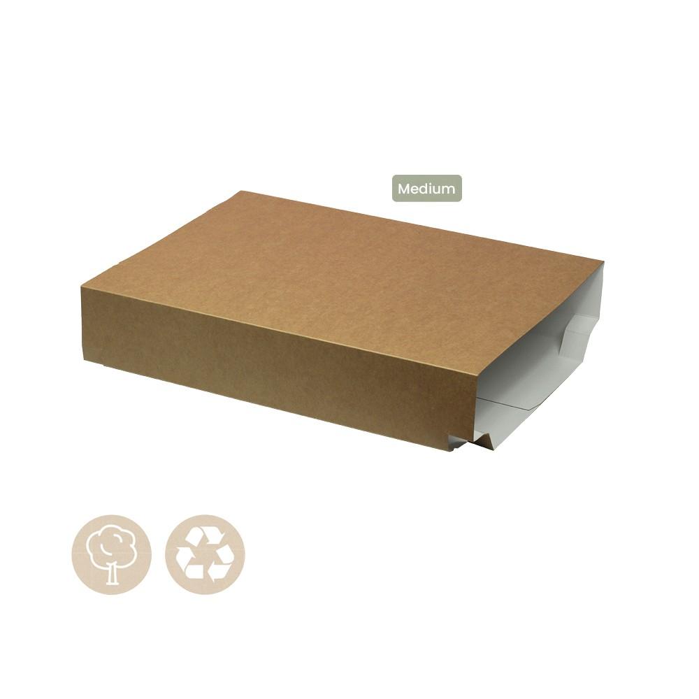 105-05-0005 Hülle für Catering Plattenboden Medium ohne Sichtfenster (Papier)