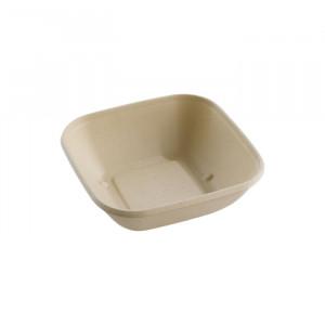 104-05-0140 Schale für Warmes & Kaltes quadratisch 750ml 17x17cm (PULP)