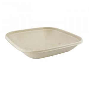 104-01-0140 Schale für Warmes & Kaltes quadratisch 500ml 17x17cm (PULP)