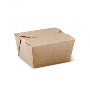 106-02-0033 Foodbox Pail Pak mit Klappdeckel 650ml (Papier)