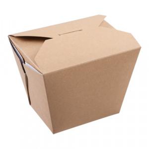105-02-0044 Foodbox mit Klappdeckel 750ml (Papier)