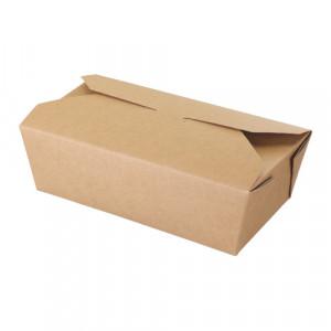 105-02-0047 Foodbox mit Klappdeckel 985ml (Papier)
