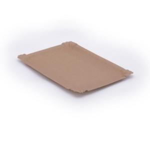Pappteller eckig 21x30 cm