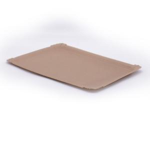 Pappteller eckig 24x33 cm