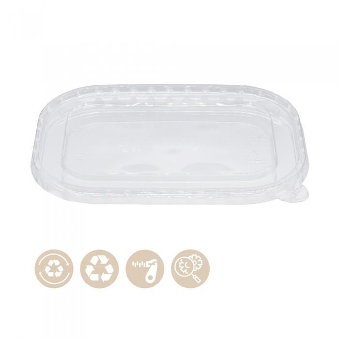 105-02-0081 rPET Deckel für Menüschale Stagione