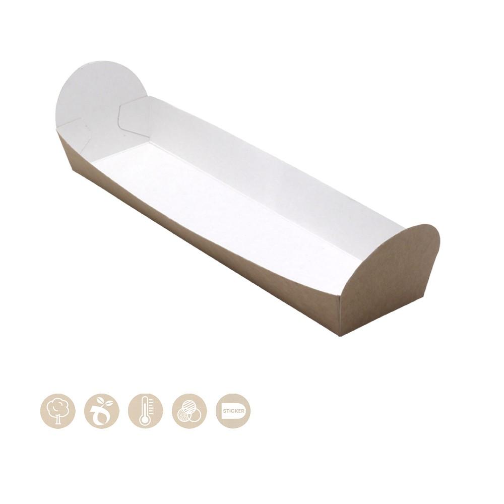 105-01-0010 BIO Baguette Schale offen (Papier)