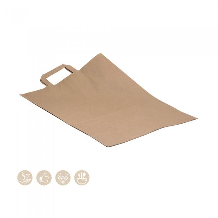 BIO Tragetasche aus Papier 320x170x450 108-07-0084